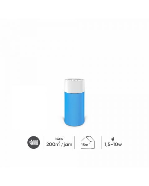 Blue Pure 411 Particle and Carbon Filter Diva Blue