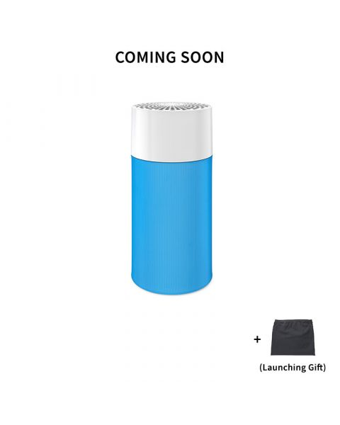 Blue Pure 411 Particle and Carbon Filter Free Cover Black