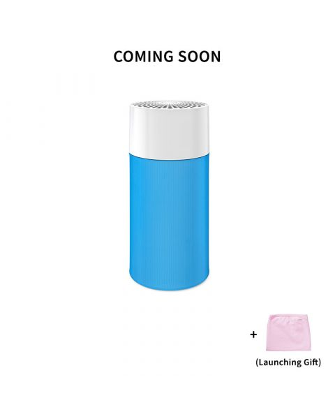 Blue Pure 411 Particle and Carbon Filter Free Cover Pink