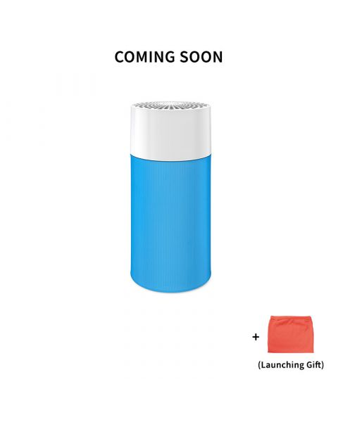 Blue Pure 411 Particle and Carbon Filter Free Cover Red