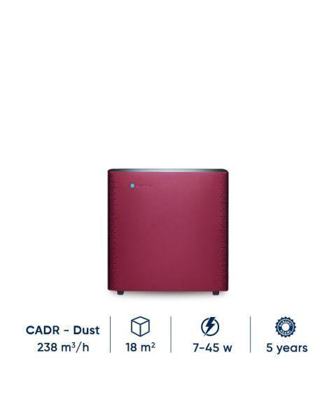 Blueair Sense+ Ruby Red Alat Pembersih udara Air Purifier Terbaik