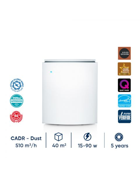 Blueair Classic 490i Air Purifier with DualProtection (Particle + Coconut Carbon) Filter
