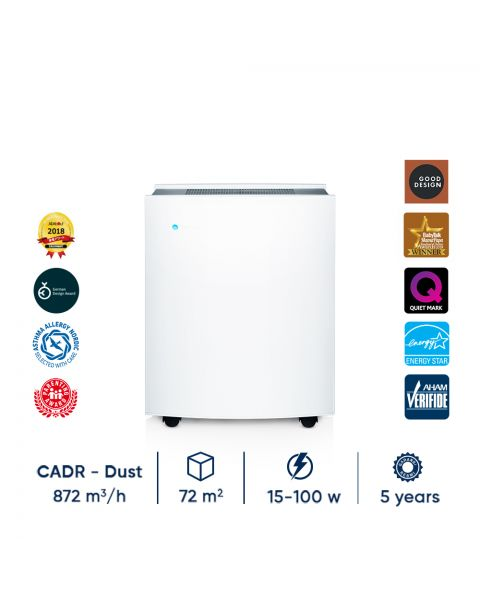 Blueair Classic 690i Air Purifier with DualProtection (Particle + Coconut Carbon) Filter