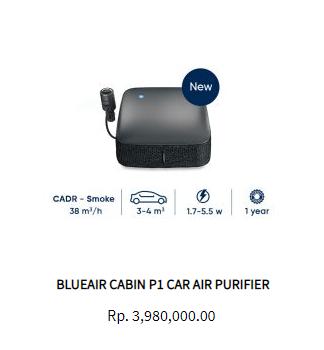 Blueair Cabin P1 Car Air Purifier