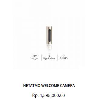 netatmo security camera