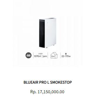 blueair air purifier pro L