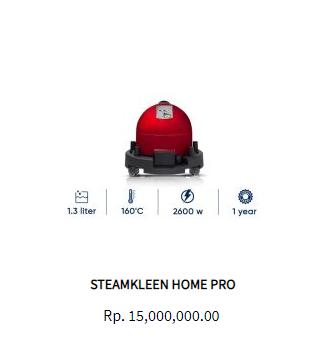 Steamkleen Steam Cleaner Home Pro