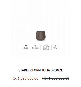 Stadler Form Aroma Diffuser Julia Bronze