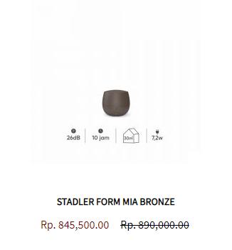 Stadler Form Aroma Diffuser Mia Bronze