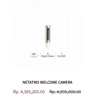 Netatmo Welcome Camera