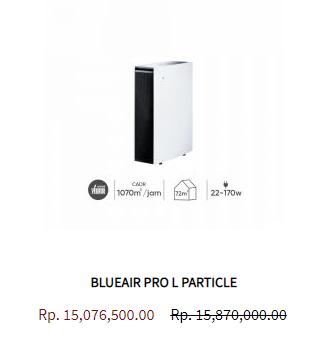 Blueair Air Purifier Pro L Particle