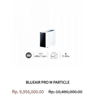 Blueair Air Purifier Pro M Particle