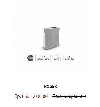 Stadler Form Air Purifier Roger