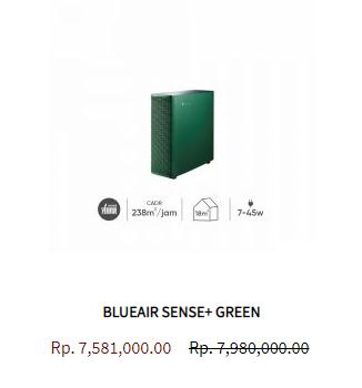 Blueair Air Purifier Sense Leaf Green