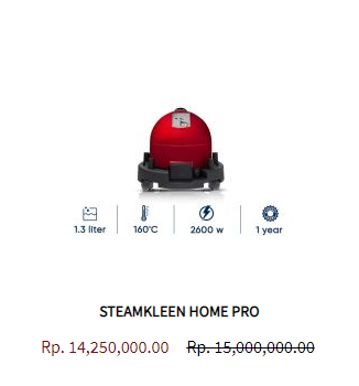 Steamkleen Steam Cleaner